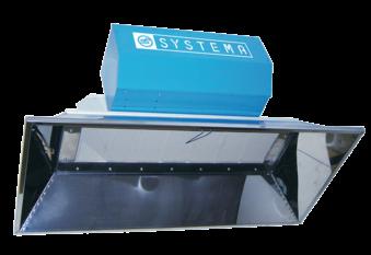 SCR A wersja automatyczna - Ceramiczne promienniki podczerwieni