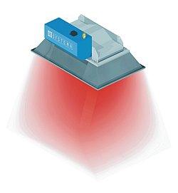 Promiennik ceramiczny gazowy SCR - ogrzewanie