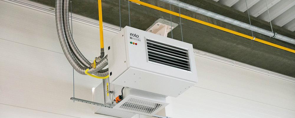 Nagrzewnice powietrza gazowe EOLO